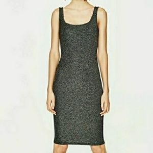 Large zara midi dress